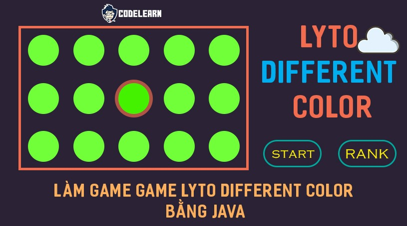 Lập Trình Game Lyto Different Color